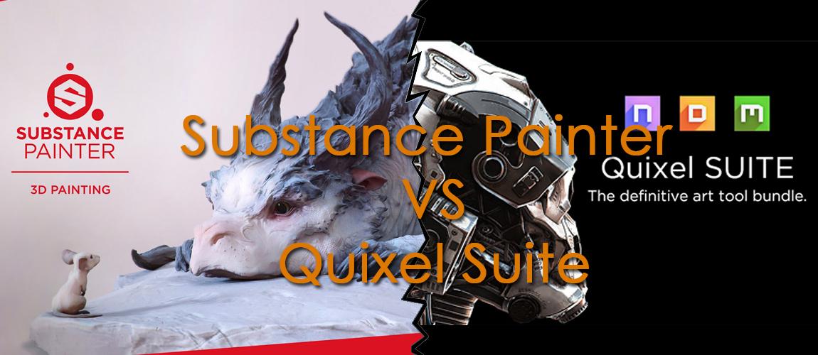 Substance painter e quixel due programmi fondamentali for Programmi per rendering